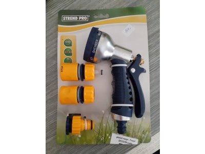 Sada záhradná DY2378 • 7 vzorová pištoľ, spojky, adaptér