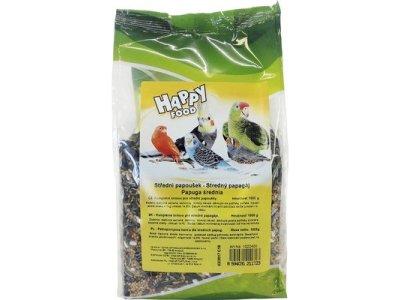 Happy Food  - veľké papagáje , 1KG