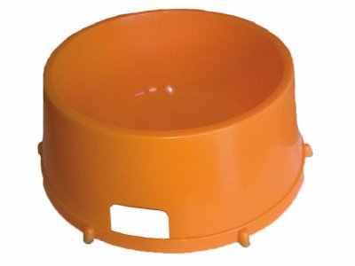 Miska plastová  - oranžová - 1,5L