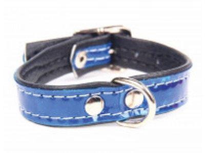 Obojok reflexný modrý 1,2x25cm