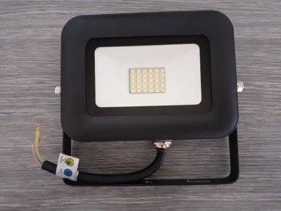 Reflektor LED 20W Biela studená WM20WL PRO 230V čierne