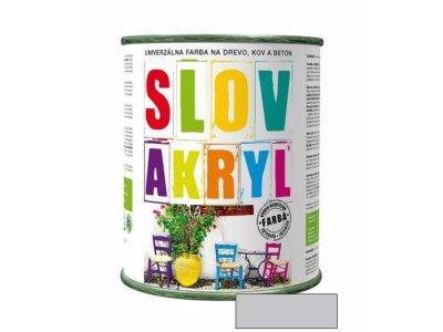 Slovakryl 0110 0,75kg - šedý svetlý