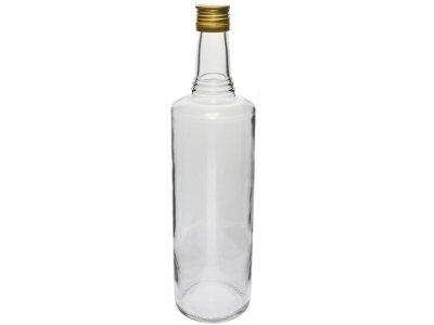 Sklenená fľaša s uzáverom - 1L