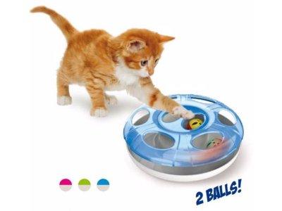 Hračka LABYRINT UFO pre mačky