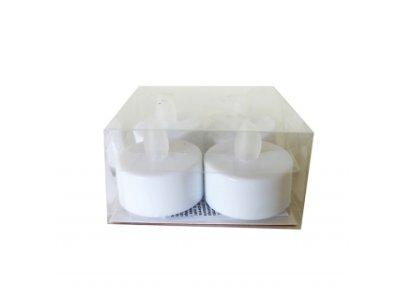 Diódový LED kahanec - čajová sviečka - 4 kusy