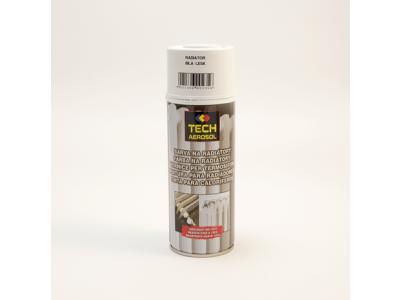 Sprej - akrýlová farba na radiator - biely lesk - 400ml