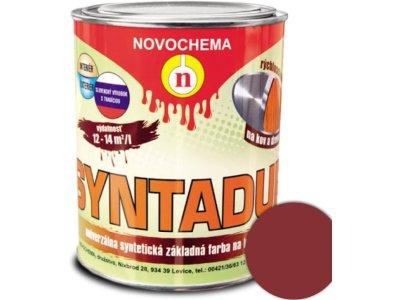 Syntadur S2000 0840 červenohnedá 0,9kg - základná syntetická farba