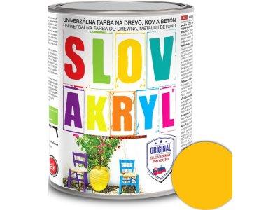 Slovakryl 0620 0,75kg - žltý