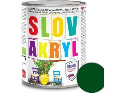 Slovakryl 0530 0,75kg - zelený