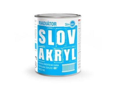 Slovakryl radiátor 0100 0,75kg - biely