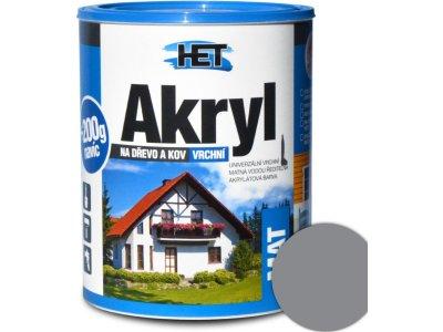 Het Akryl mat 0111 0,7kg šedá