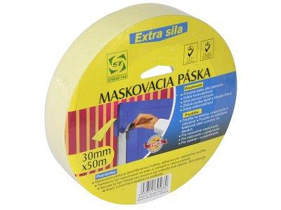 Maskovacia páska krepová - 25m/250mm