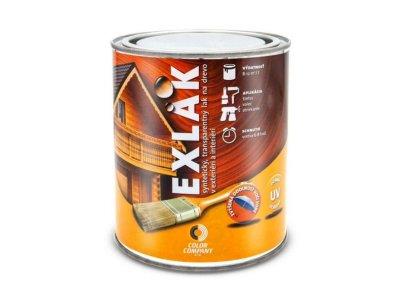 Lak Exlak lesklý 0,7L - exteriérový transparentný lak na drevo