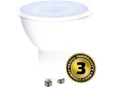Solight LED žiarovka, bodová , 5W, GU10, 4000K, 400lm, neutrálna biela
