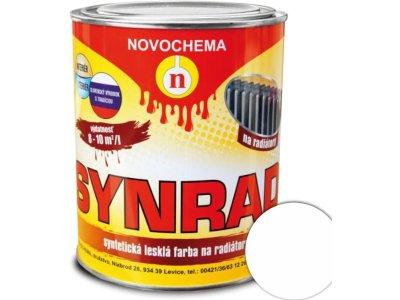 Synrad 1000 0,75kg farba na radiátory - biela lesklá