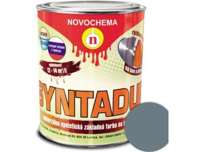 Syntadur S2000 0110 šedá 0,9kg - základná syntetická farba