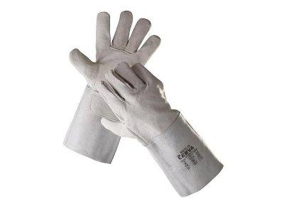 Zváračské kožené rukavice