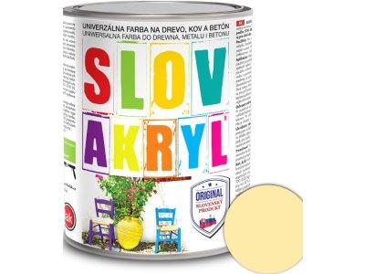 Slovakryl 0610 0,75kg - béžový