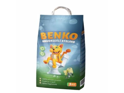 Podstielka pre mačky BENKO - 5kg