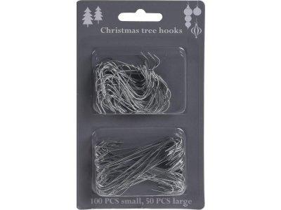 Háčiky na vianočný stromček 150ks