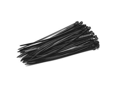 Páska Strend Pro CT66BL, 120x2,5 mm, 50 ks, čierna, nylon, viazacia