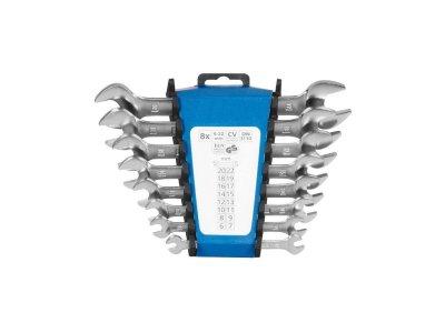 Sada vidlicových kľúčov CrV na držiaku 8-dielna, 6-22 mm, PROTECO