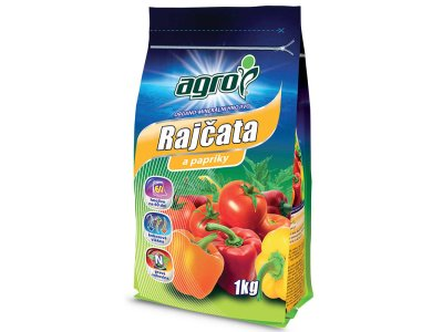 Agro Organominerálne hnojivo rajčata a papriky 1 KG