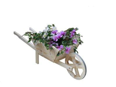Stojan na kvety FURIK drevený 120x38x33 cm
