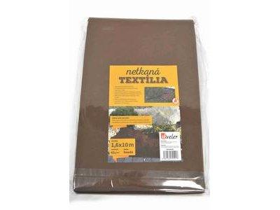 Textília netkaná 1,6x10m hnedá 45g/m2