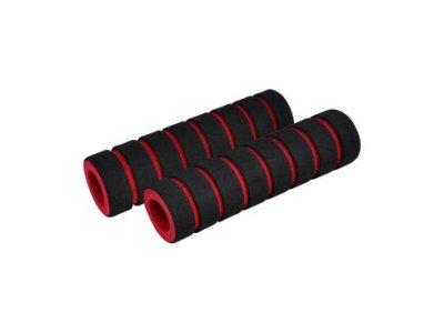 Madlá LONGUS FOUMY čierne/červené, penové
