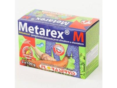 METAREX M proti slimákom a slizniakom 3x100g