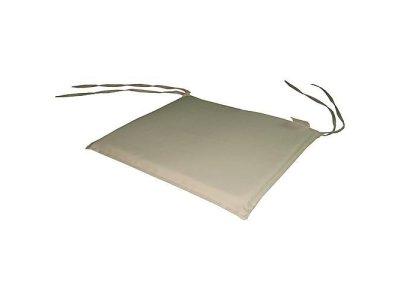 Podložka LEQ HOBRO, krémová, 39x36x2 cm, stolička