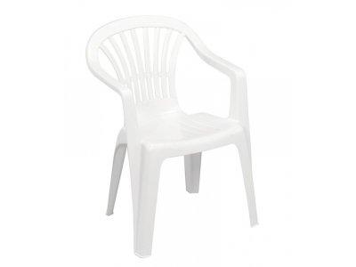 Stolička ALTEA White, biela, 80x56x54 cm